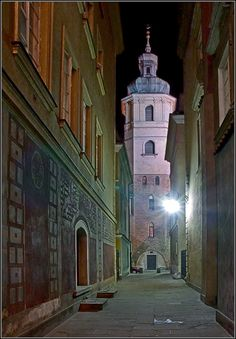 Warsaw by Night - Warsaw, Poland