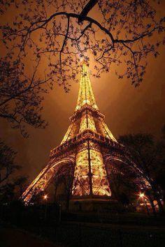 #paris #sunset #tour #eiffel