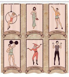 Vintage Circus Costume, Vintage Circus Posters, Vintage Carnival, Circus Acrobat, Circus Art, Circus Theme, Old Circus, Circus Characters, Cartoon Characters