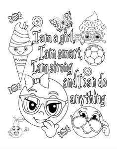 292 best girley color pages images on Pinterest   Coloring books ...