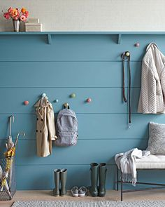 Seems like a good idea for a small space, or a place where you don't want to mess with the existing walls.