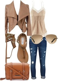 """""""brown"""" by madatmadi on Polyvore"""
