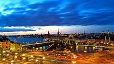 """Estocolmo de Noche..... """" Blue hour """" by hector melo, via Flickr"""