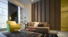 Moderne Wohnung mit riesiger Terrasse | Moderne wohnung, Terrasse ...