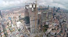 Trump Towers şu şehirde: İstanbul, İstanbul Trump Tower, Willis Tower, San Francisco Skyline, Istanbul, Environment, Building, Travel, Construction, Trips