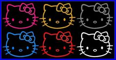 HELLO KITTY CAR DECAL Hello kitty decal sizes / colors Hello Kitty Car, Car Decals, Accent Decor, Wall Decor, Kids Rugs, Colors, Diy, Wall Hanging Decor, Kid Friendly Rugs