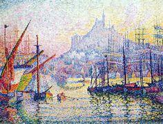 Paul Signac - Notre Dame de la Garde, Marseille