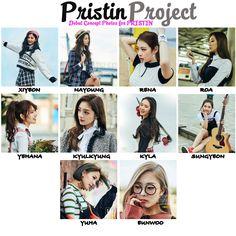 Pristin Project : Foto