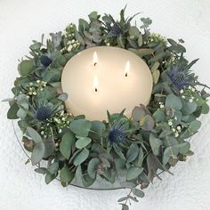 Wreath of eucalyptus - wedding dress Eucalyptus wreath Eucalyptus wreath Homemade! Related posts: Decoration for the wedding ceremony in Eucalyptus Wreath, Eucalyptus Wedding, Diy Fall Wreath, Advent Wreath, Make Your Own Wreath, How To Make Wreaths, Handmade Christmas, Christmas Diy, Christmas Decorations