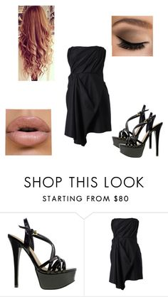 """""""Party-Hannah"""" by bella-schroeder ❤ liked on Polyvore featuring Chinese Laundry and Acne Studios"""
