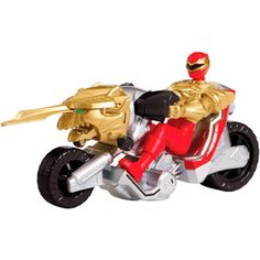 Power Rangers Ultra Dragon Cycle and Red Ranger Action Figure Play Set, $12, for Dylan's bday