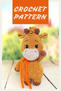Crochet Animal Patterns, Stuffed Animal Patterns, Crochet Patterns Amigurumi, Crochet Dolls, Handmade Ideas, Handmade Toys, Handmade Crafts, Amazing Toys, Knitting Toys