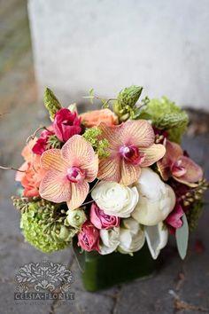 Orchid arrangement- for alternative tables