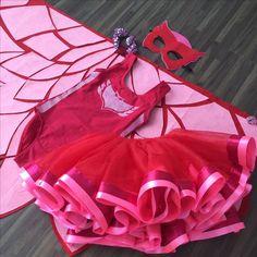 Costumi di carnevale dei Pj Masks fai da te_gufetta-con-tutu