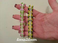 "New ""Butterfly Single"" Rainbow Loom Bracelet/How To Tutorial"