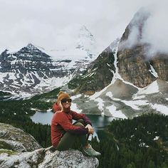 Follow @traveling_the_blue_planet and tag a mountain girl! : Mt Assiniboine : @shrediger Hashtag your photos #AlpineBabes! Add us on Snapchat: AlpineBabes