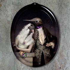 #ibride #lovebirds #quirky #classic #art