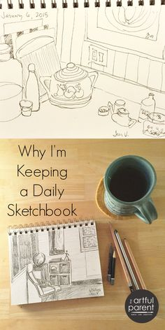 My Daily Sketchbook Project