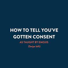 Hook up consent