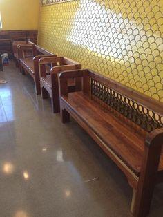 Benches. (WholeFoods) www.trueemporium.com