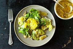 April Bloomfields Lemon Caper Dressing aka the best salad dressing EVER