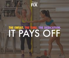 Your dedication during your workouts and in the kitchen will pay off! Just keep going