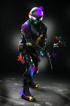 Nike Paintball