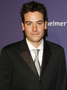 Josh Radnor. He's a famous actor, mostly famous because of his performance in How I Met Your Mother.  I chose Josh because he's one of my favorite actors