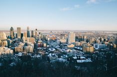 The Winter Guide to Montréal