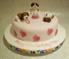 Birthday Cakes | Beagle Puppy Birthday Cake | icemaidencakes