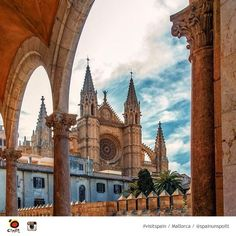 The Cathedral of Santa Maria of Palma Majorca, Spain.