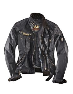 Belstaff Herrenjacke Wax-Cotton Brooklands