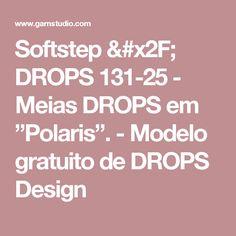 """Softstep / DROPS 131-25 - Meias DROPS em """"Polaris"""".  - Modelo gratuito de DROPS Design"""