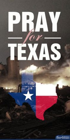 Pray for all those affected by the fertilizer plant explosion and for all the workers there helping out the victims in WEST, Texas.