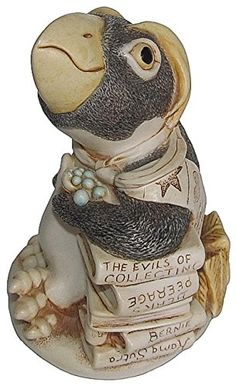 "Harmony Kingdom ""Dressed To Kill"" Penguin Figurine. #HarmonyKingdom #Statue #Sculpture #Decor #Gift #gosstudio .★ We recommend Gift Shop: http://www.zazzle.com/vintagestylestudio ★"