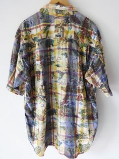 Mens Casual Shirt all Cotton XL By JanSport  #JanSport #ButtonFront