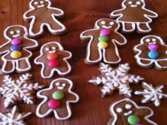 """The Most Wonderful Gingerbread Cookies Recipe"" from Food.com   **use a little less flour**"