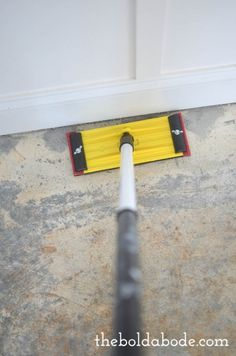 how to rip up More Source by marymheiser The post DIY How to Prep a Concrete Slab Floor for Painting appeared first on Wise Cabinetry.