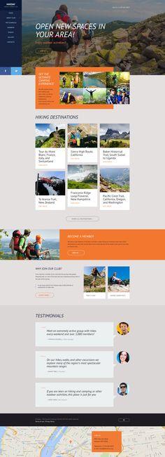Template 58114 - Tea Company Responsive Website Template - timeline website template