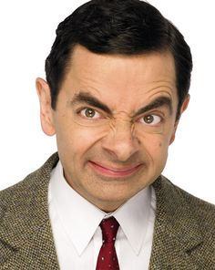 Mr. Bean...my all-time favorite comedian...he makes me laugh so hard, tears roll down my legs!! ;)