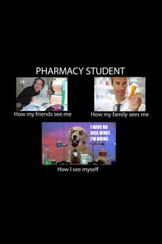 Life of a pharmacy student...