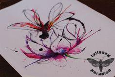"Képtalálat a következőre: ""javi wolf dragonfly"" M Tattoos, Wicked Tattoos, Tattoo You, Flower Tattoos, Dragonfly Art, Dragonfly Tattoo, Javi Wolf, Hawaiian Tattoo, Desenho Tattoo"