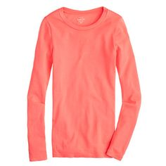 J.Crew - Perfect-fit long-sleeve tee (Xs)