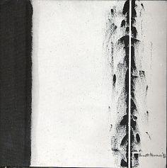 The Station, Barnett Newman (American, New York New York) Date: 1963 Medium: Oil on canvas Dimensions: 24 x 24 in. Willem De Kooning, Jackson Pollock, Abstract Painters, Abstract Art, Project Abstract, Barnett Newman, Pix Art, Colour Field, American Artists