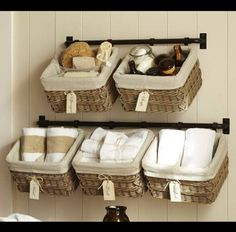 Alternate Bathroom Storage Ideas