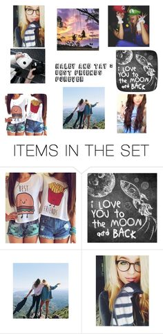 """""""best friends forever"""" by unicornprincess0319 on Polyvore featuring art"""