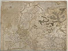 Mercator map of Europe  Mercator, The Man who Mapped the Planet by Nicholas Crane