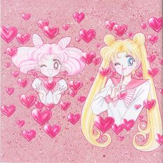 Usagi & Chibi-Usa // Sailor Moon