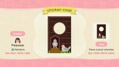 Standee Design, Ac New Leaf, Animal Crossing Guide, Island Theme, Chicken Coop Designs, Motifs Animal, Animal Games, Island Design, Animal Design