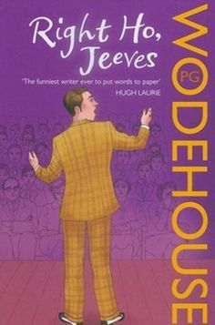 PG Wodehouse - so funny! One of my favorite authors!
